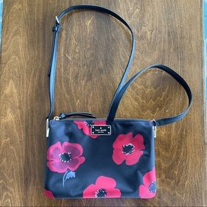 Kate Spade | Wilson Road Red Poppies Crossbody